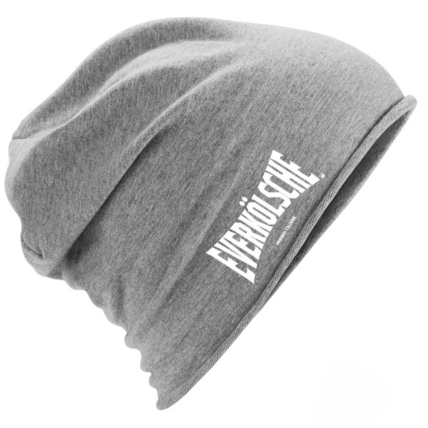 "Jersey Beanie ""EVERKÖLSCHE"" HEATHER GREY"