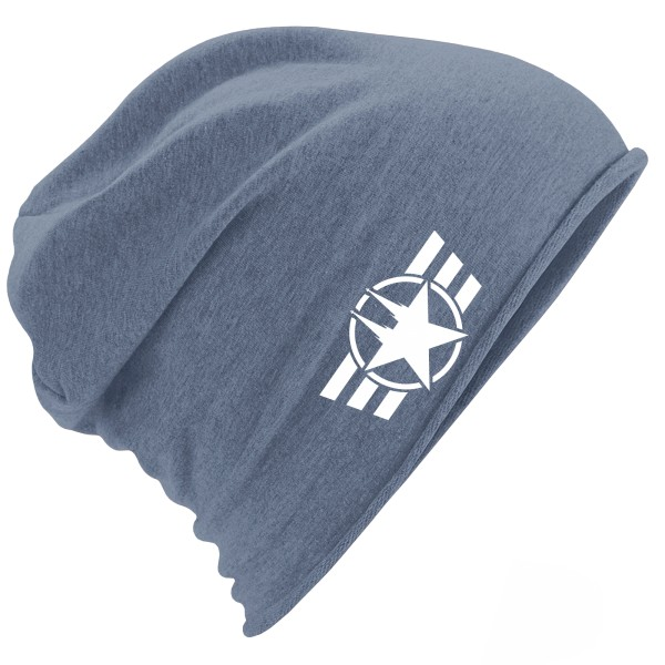 "Jersey Beanie ""COLOGNE FORCE"" DENIM BLUE"