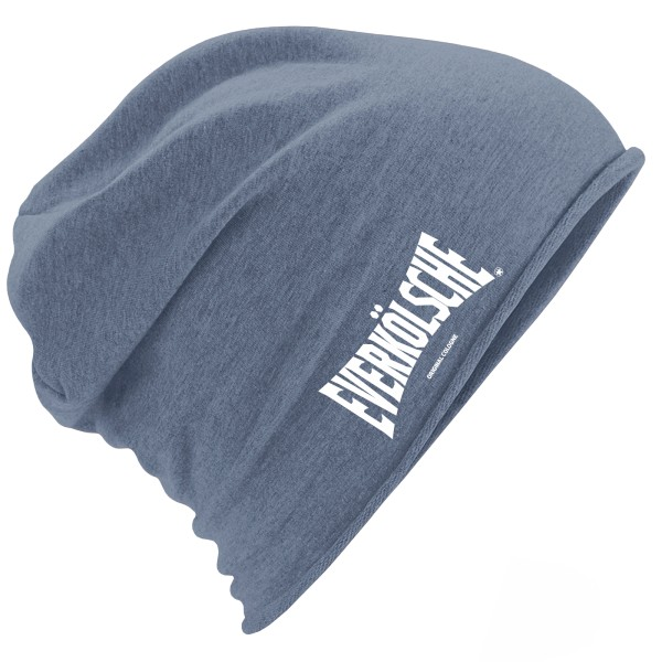 "Jersey Beanie ""EVERKÖLSCHE"" DENIM BLUE"