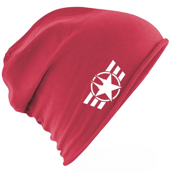 """Jersey Beanie """"COLOGNE FORCE"""" ROT"""