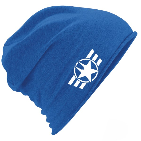 "Jersey Beanie ""COLOGNE FORCE"" ROYAL BLUE"