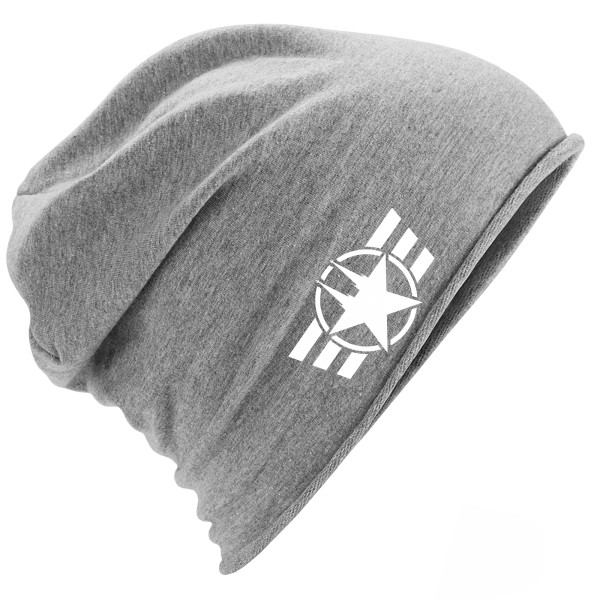 "Jersey Beanie ""COLOGNE FORCE"" HEATHER GREY"